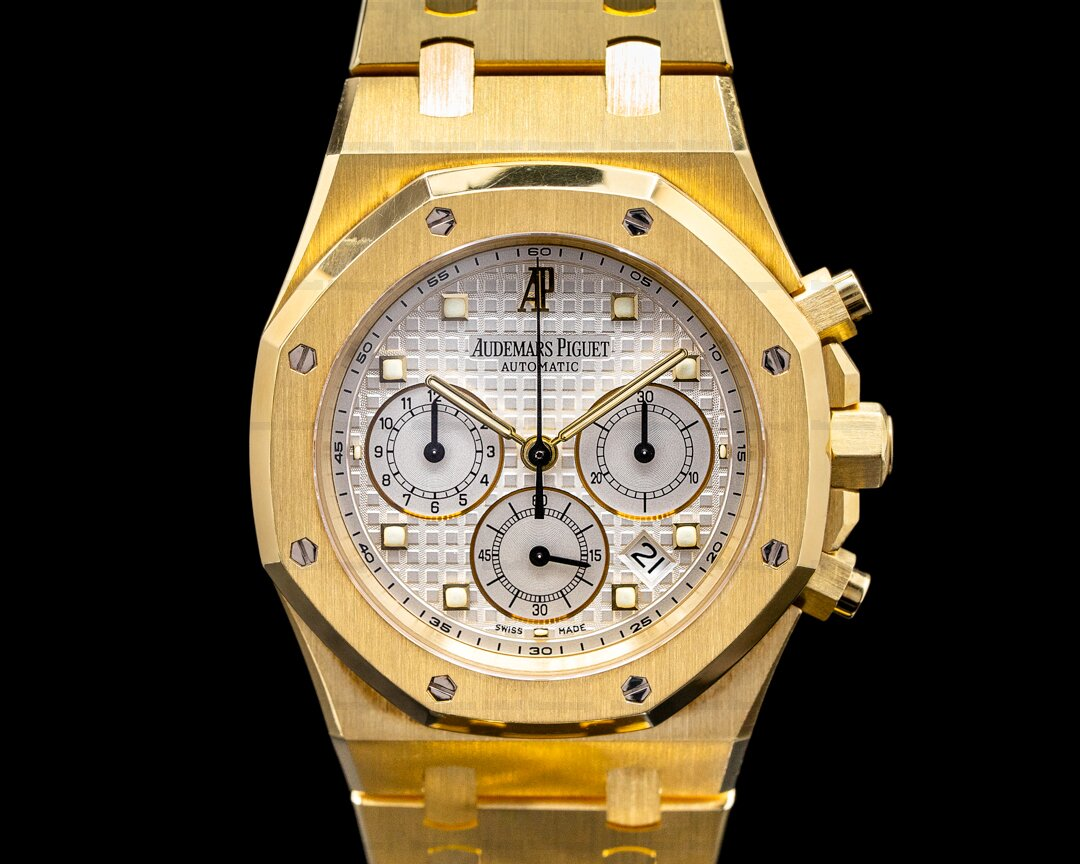 Audemars Piguet Royal Oak Chronograph 39MM 18K Yellow Gold SHARP Ref. 26022BA.OO.D088CR.01