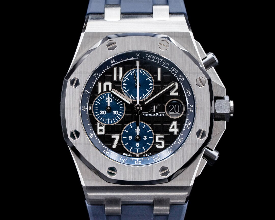 Audemars Piguet Royal Oak Offshore Chronograph Black Dial 2021 Ref. 26470ST.00.A028CR.01