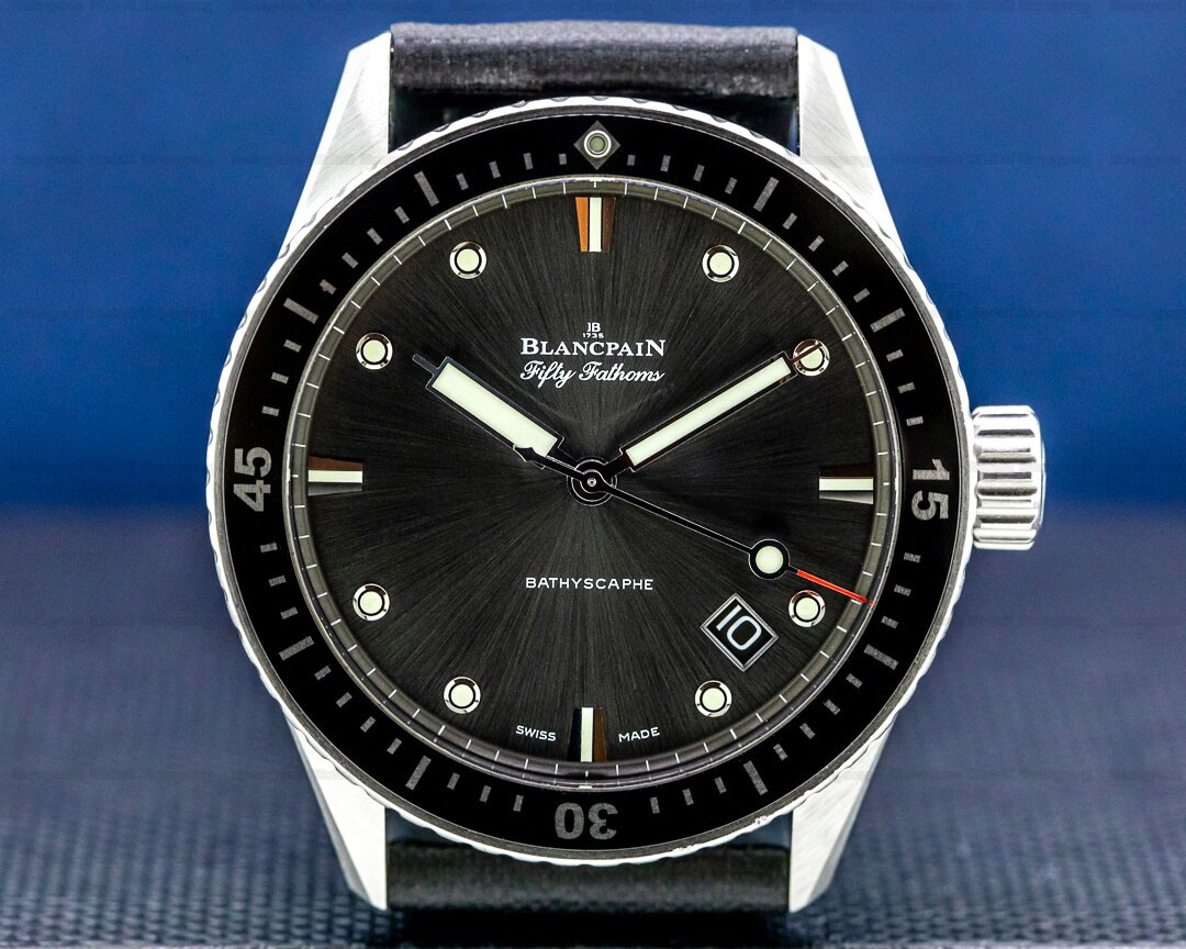 Blancpain Fifty Fathoms Bathyscaphe SS Ref. 5000-1110-b52a