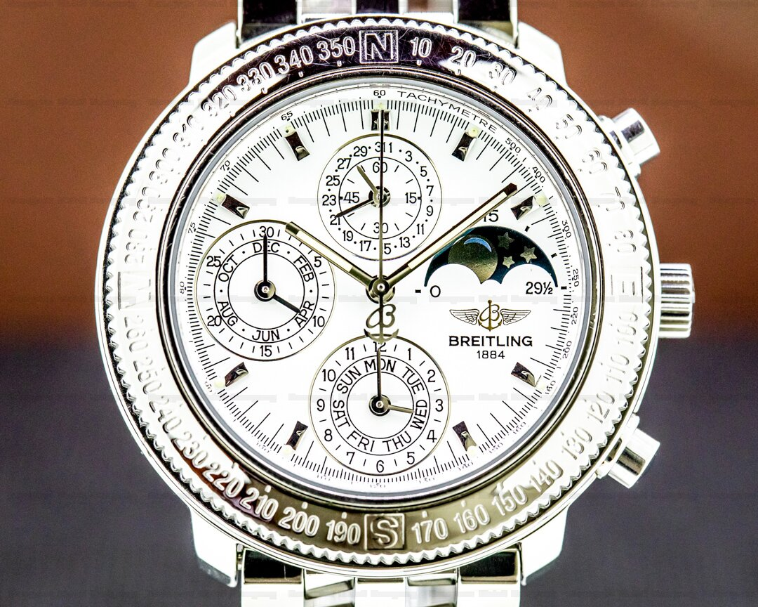 Breitling Astromat 1461 Semi Perpetual Calander Chronograph Ref. A19405