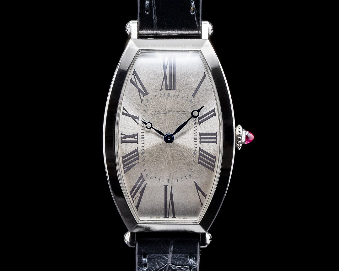 Cartier Platinum WGTN0005 Tonneau Re-Edition Platinum LIMITED Ref. WGTN0005