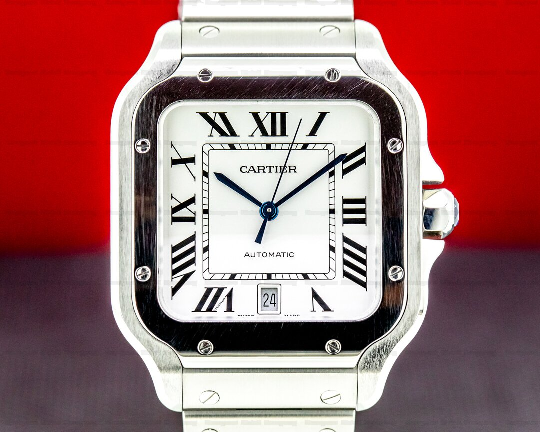 Cartier Santos Large SS / SS Automatic NEW MODEL Ref. WSSA0009