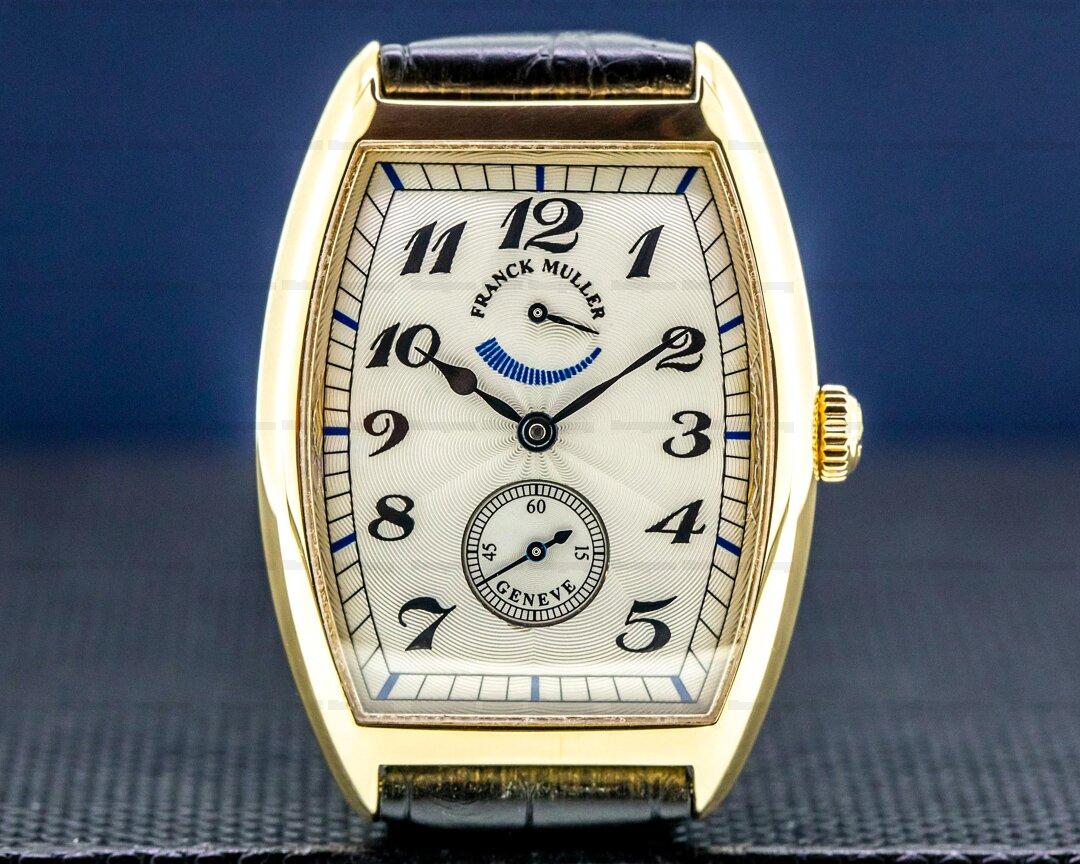 Franck Muller Cintree Curvex Casablanca 18K Rose Gold Silver Dial Ref. 2852PR
