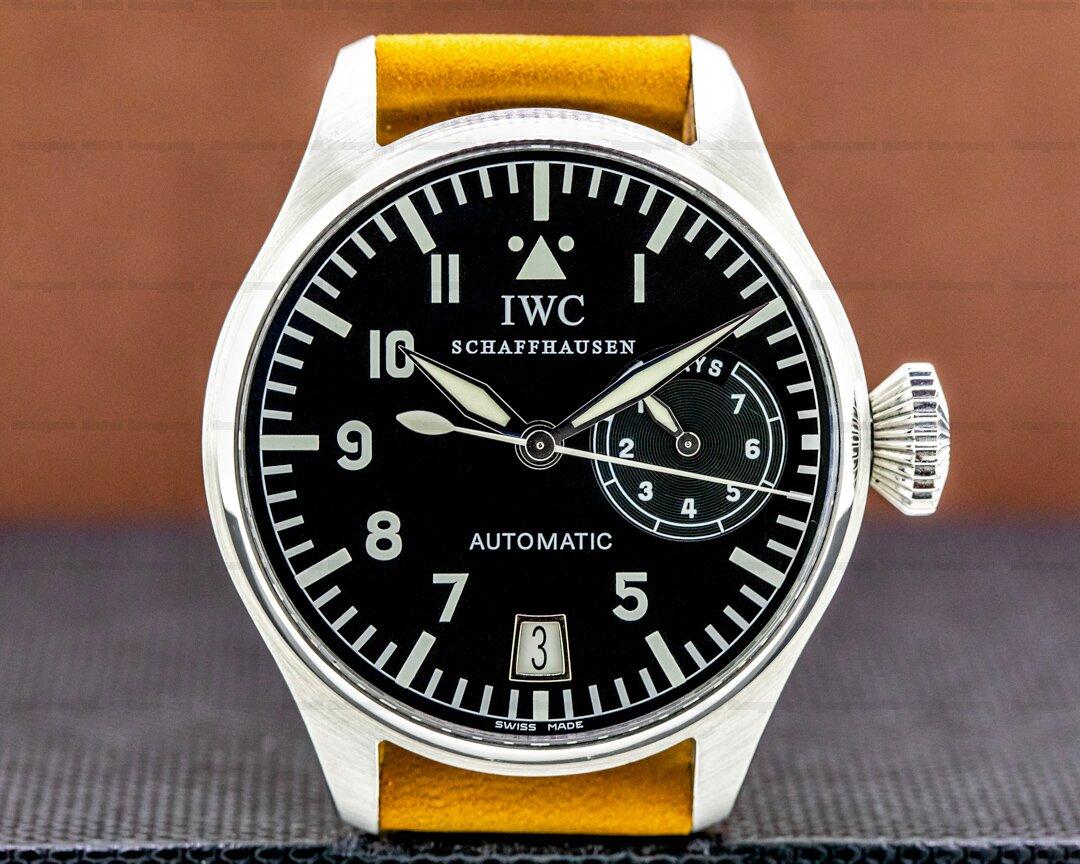 IWC Big Pilot 5002 SS 7 Day Ref. 5002-01