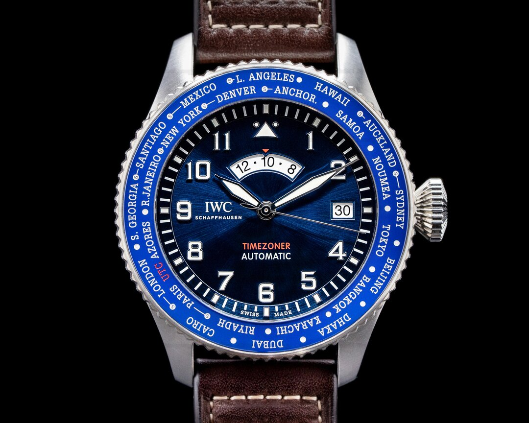 IWC Pilots Watch Timezoner IW395503 LE PETIT PRINCE Blue Dial Ref. IW395503