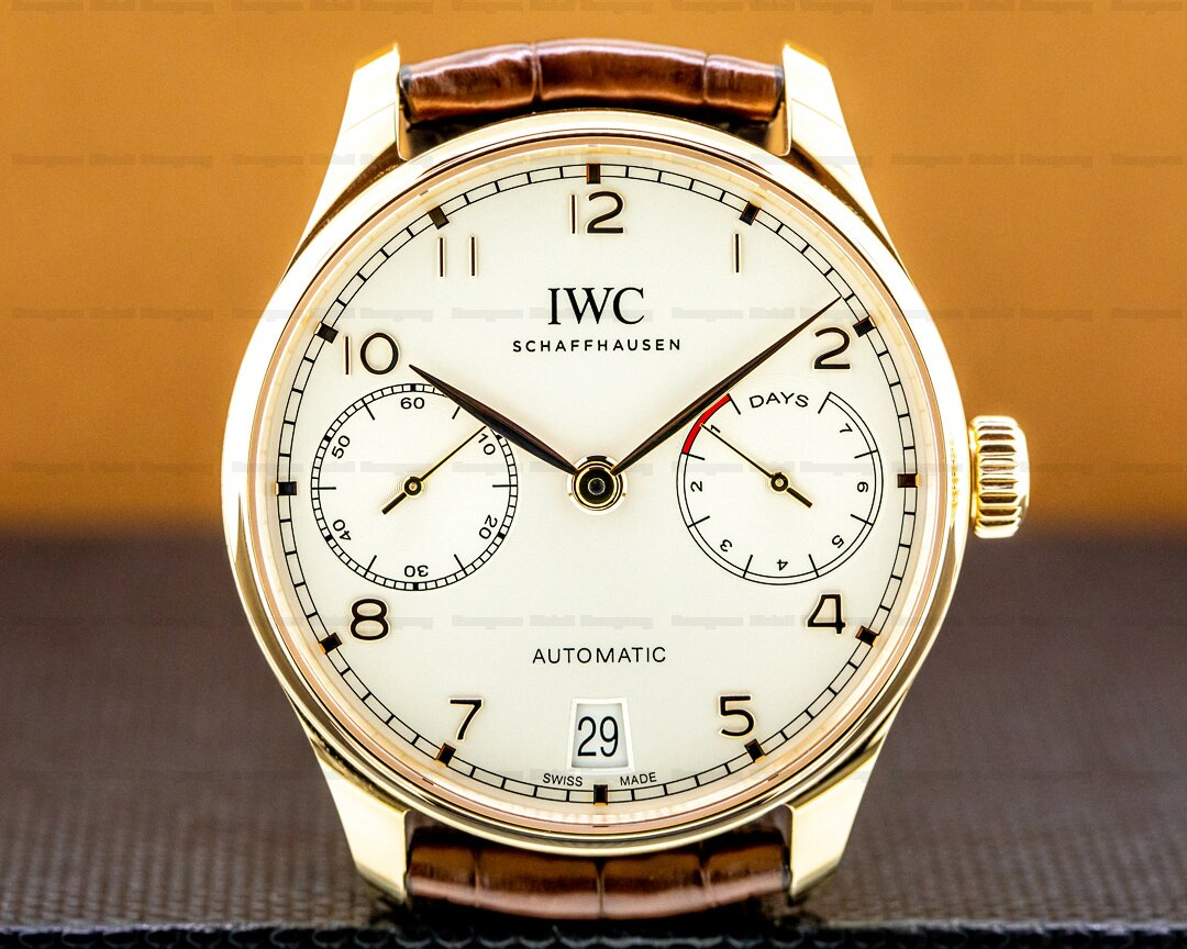 IWC Portuguese 7 Day Automatic 18K Rose Gold Ref. IW500701