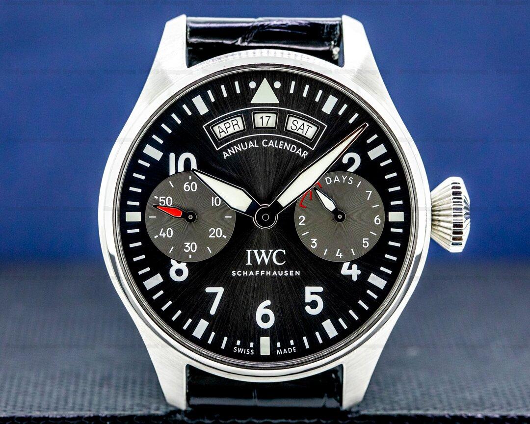 IWC Big Pilot Annual Calendar Spitfire SS / Grey Dial Ref. IW502702