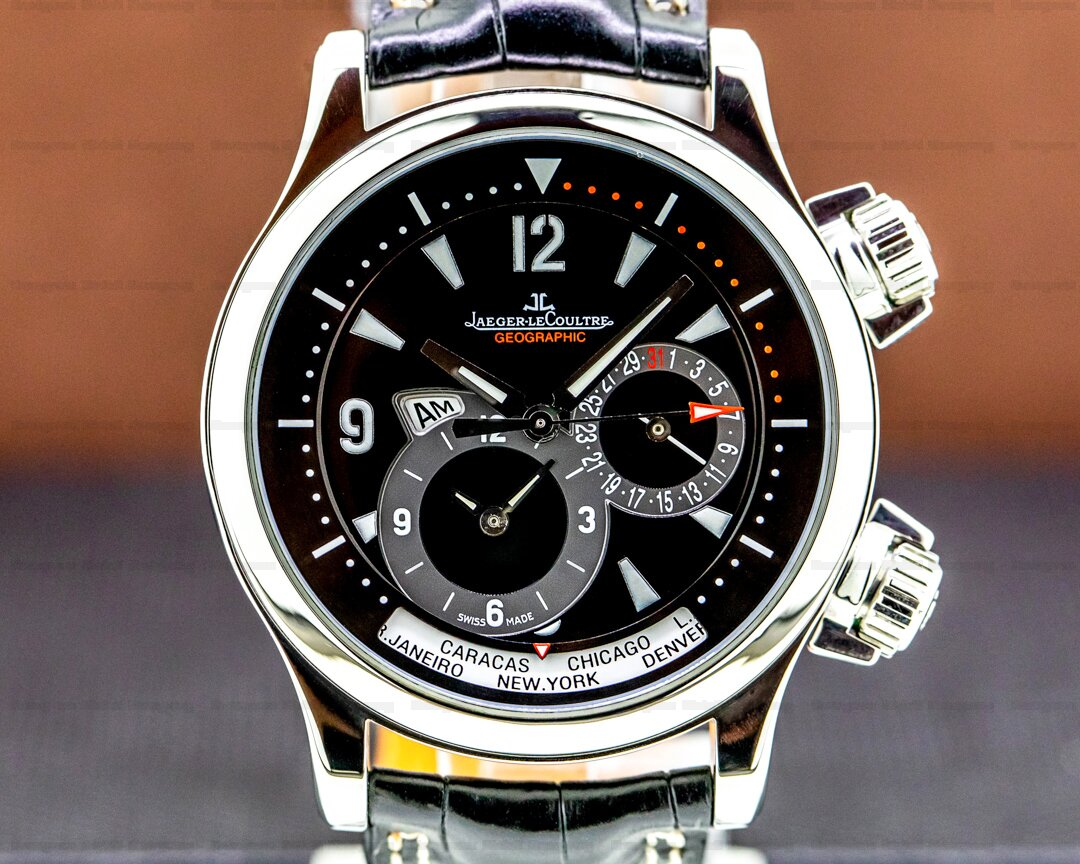 Jaeger LeCoultre Master Compressor Geographic SS Ref. Q1718470