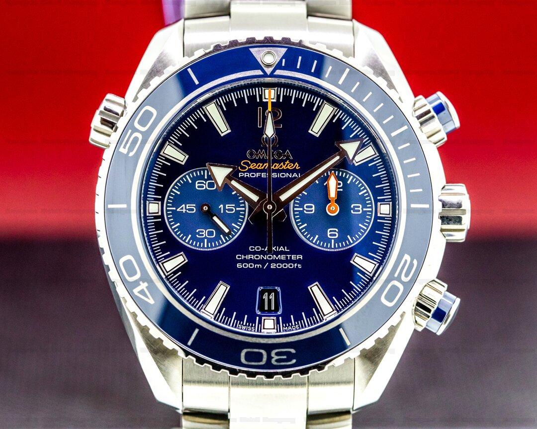 Omega Planet Ocean Co-Axial Chronograph Liquidmetal Blue Titanium Ref. 232.90.46.51.03.001