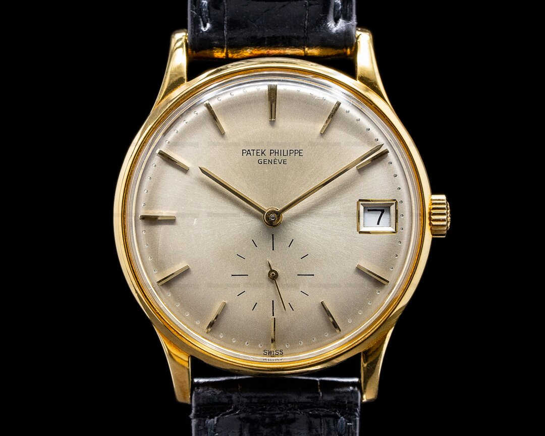Patek Philippe Calatrava 3514 18K Yellow Gold / Automatic Ref. 3514J