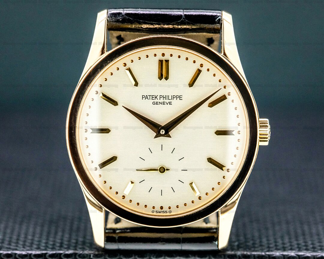 Patek Philippe Calatrava 18K Rose Gold Manual Wind ORIGINAL CERTIFICATE Ref. 3796