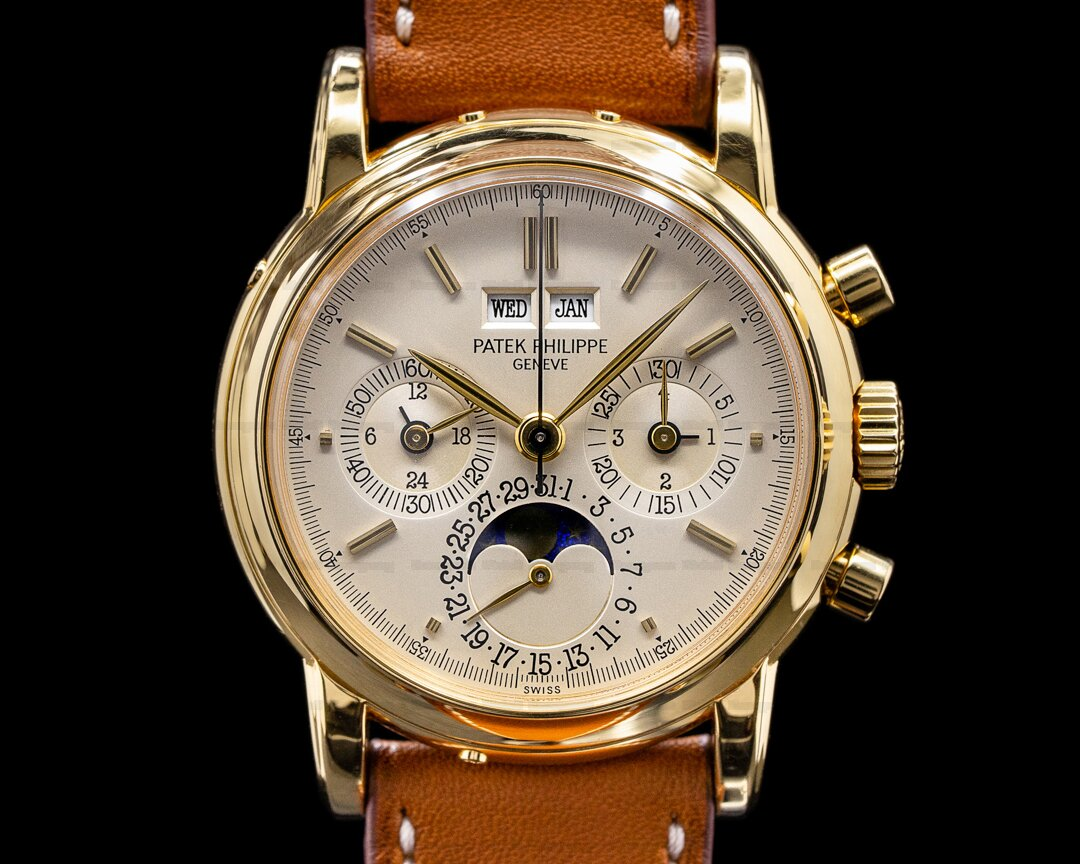 Patek Philippe Perpetual Calendar Chronograph 3970 2nd Series NICE Ref. 3970E Second Series