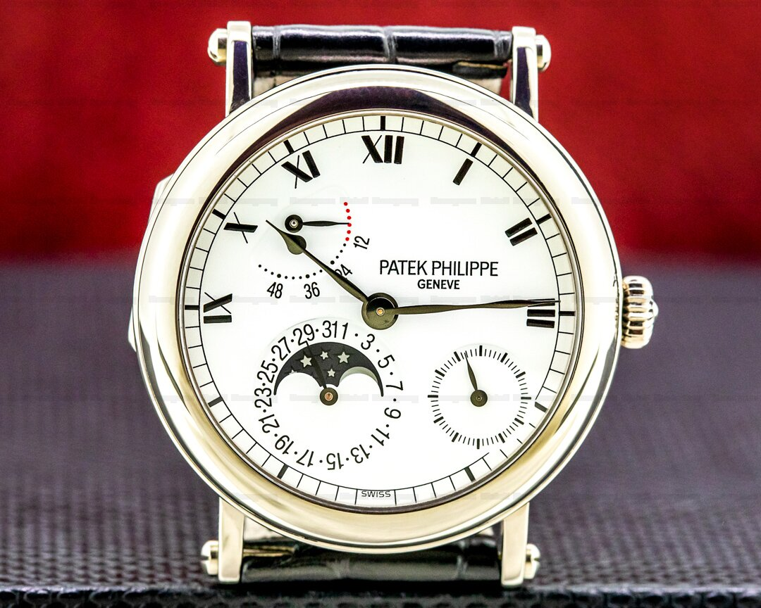 Patek Philippe Power Reserve 5054 Moonphase 18K White Gold Ref. 5054G-001
