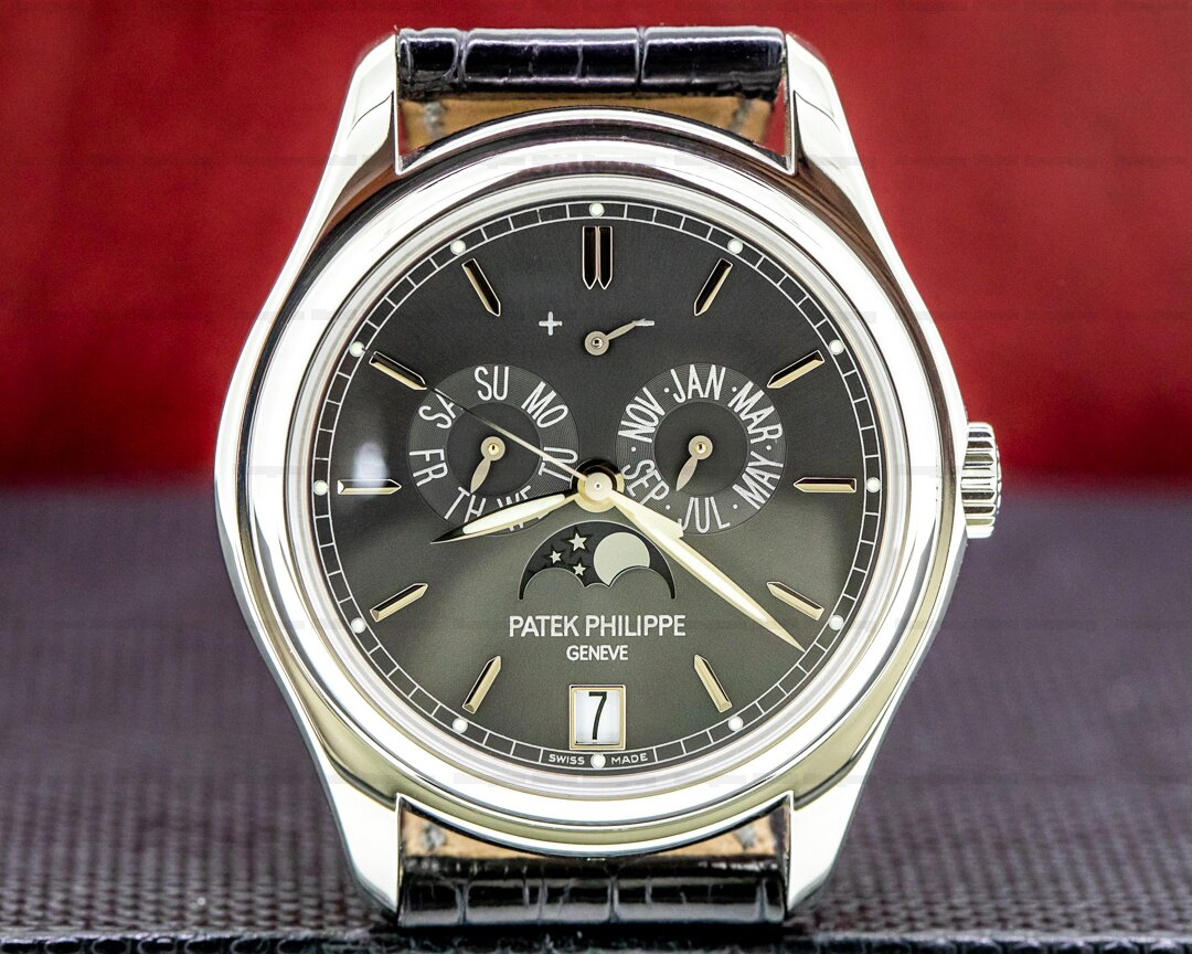 Patek Philippe Annual Calendar 5146P Grey Dial Platinum FULL SET Ref. 5146P-001