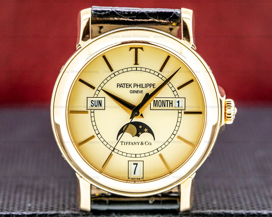 Patek Philippe Annual Calendar 5150R T 150 Tiffany Limited Edition 18K Rose Gold Ref. 5150R-T150