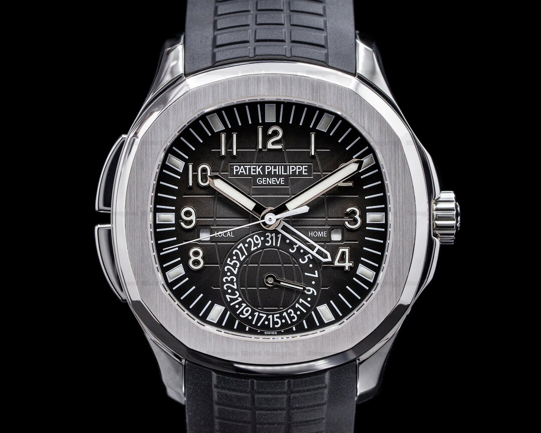 Patek Philippe Aquanaut 5164A Travel Time SS / Rubber 2013 Ref. 5164A-001