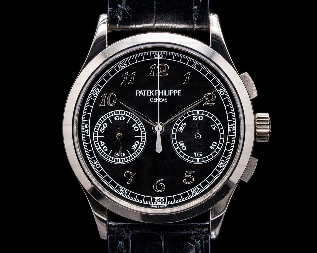 Patek Philippe Chronograph 5170G-010 18K White Gold Black Dial 2019 Ref. 5170G-010