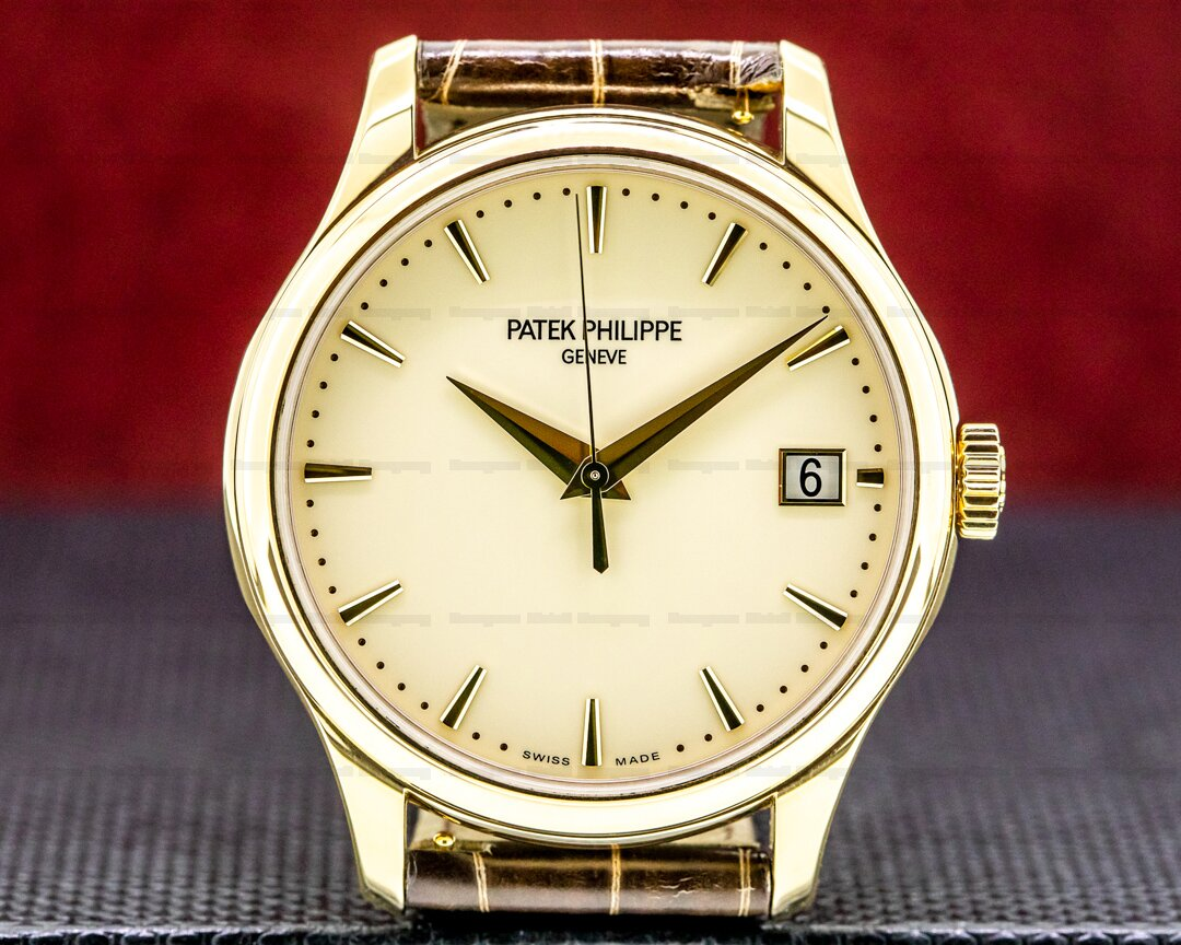 Patek Philippe Calatrava 5227J Automatic 18K Yellow Gold 2020 Ref. 5227J