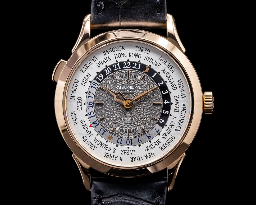 Patek Philippe World Time 5230R 18k Rose Gold Ref. 5230R-001