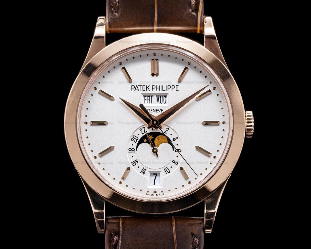 Patek Philippe Annual Calendar 5396R Rose Gold / Silver Dial 2020 Ref. 5396R-011