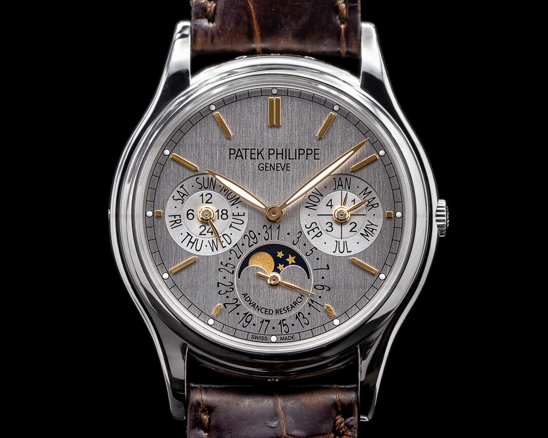 Patek Philippe Advanced Research 5550P Perpetual Calendar FULL SET Ref. 5550P-001