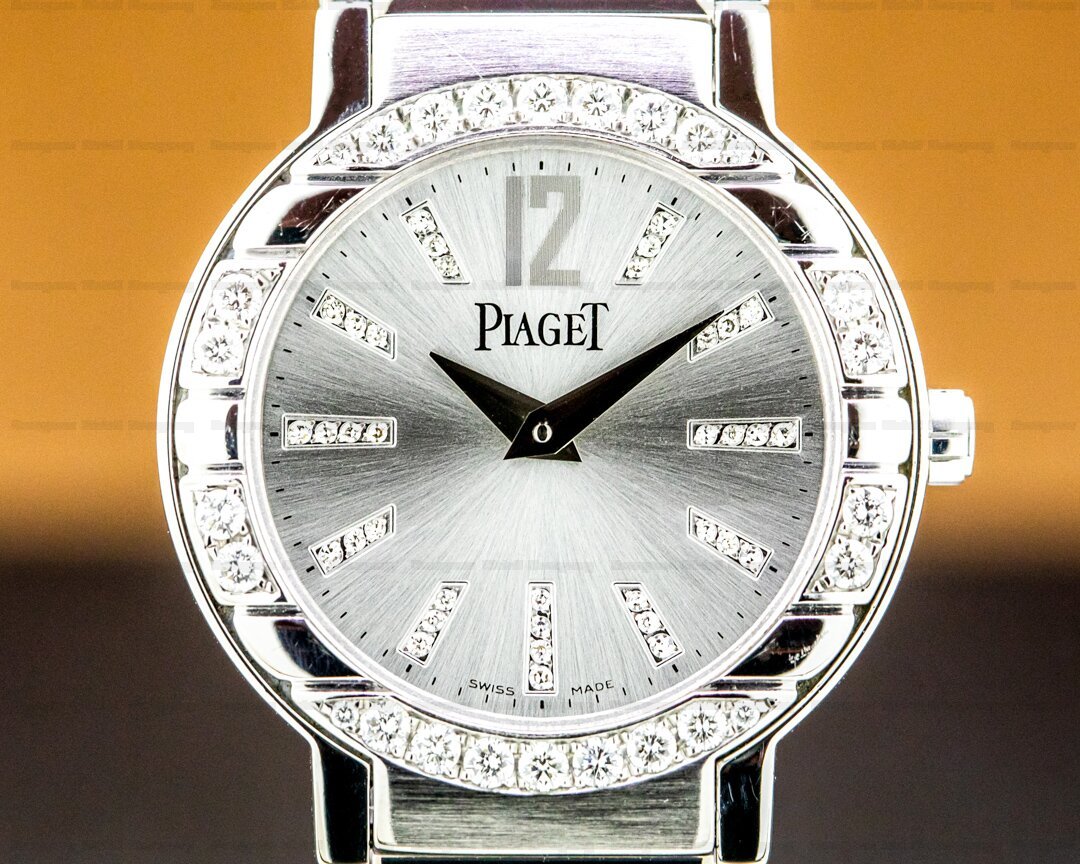 Piaget POLO SMALL 18K White Gold Diamonds / Bracelet Ref. GOA26031