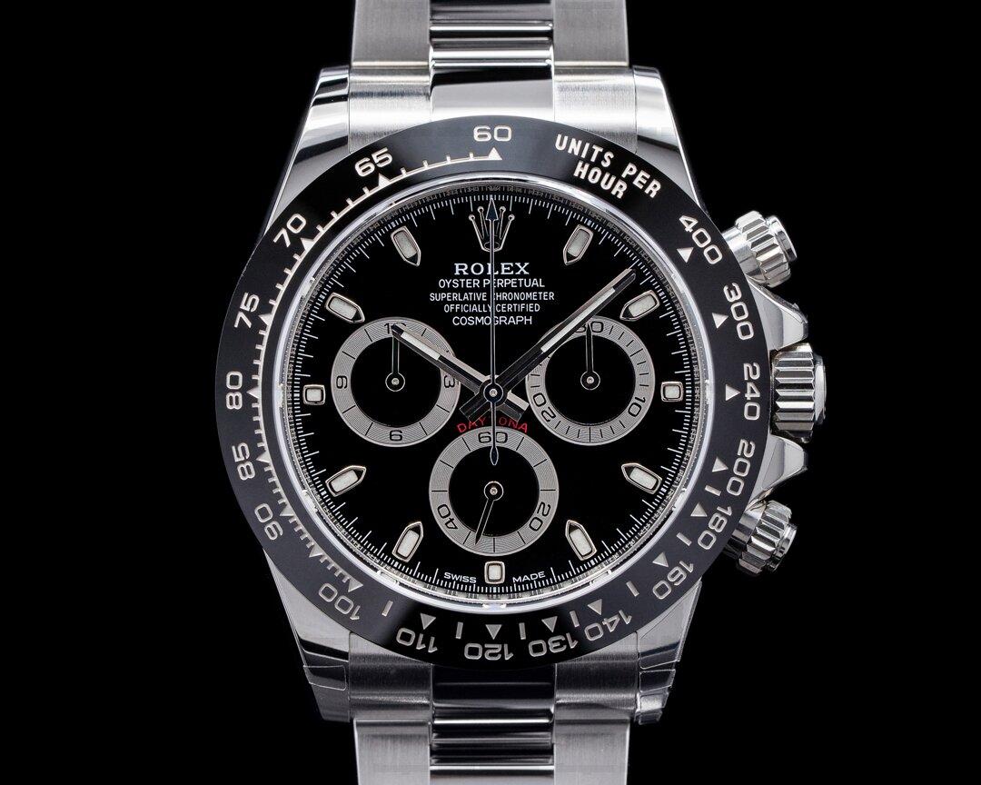 Rolex Daytona 116500LN Ceramic Bezel SS / Black Dial UNWORN 2020 Ref. 116500LN