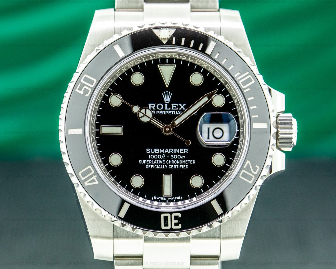 Rolex Submariner 116610 Ceramic SS 2020 Ref. 116610LN