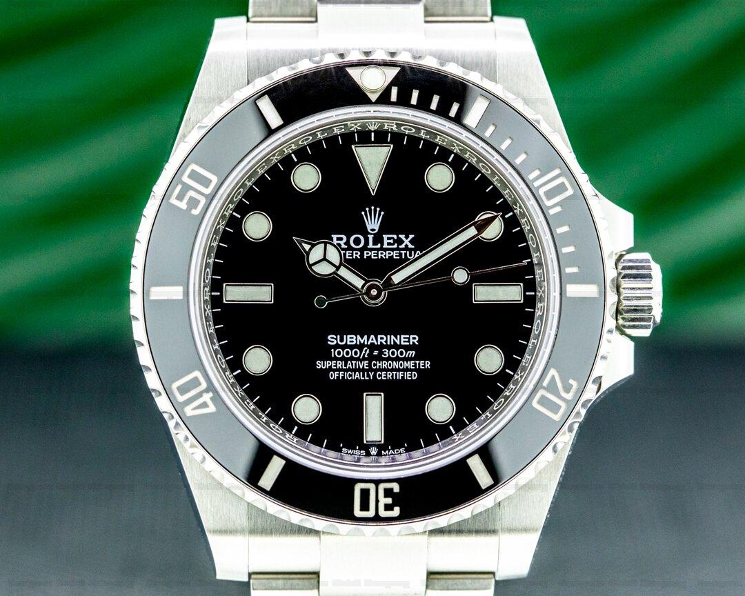 Rolex Submariner 124060 No Date Ceramic Bezel 41MM 2020 Ref. 124060