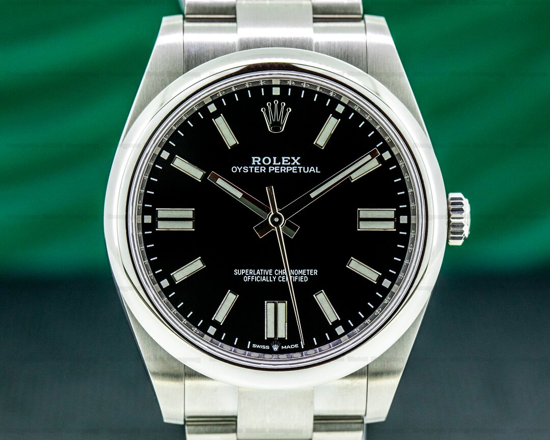 Rolex Oyster Perpetual 124300 41mm SS / Black Dial 2020 UNWORN Ref. 124300