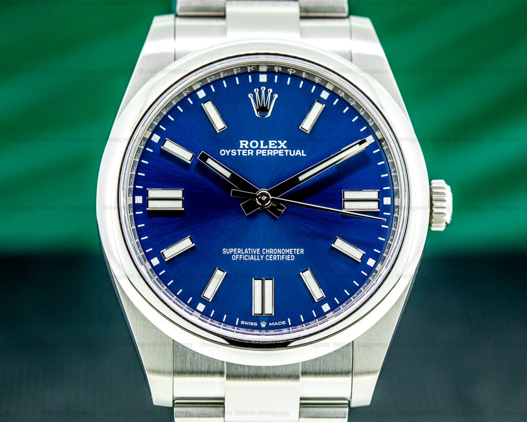 Rolex Oyster Perpetual 124300 41mm SS / Blue Dial 2020 Ref. 124300