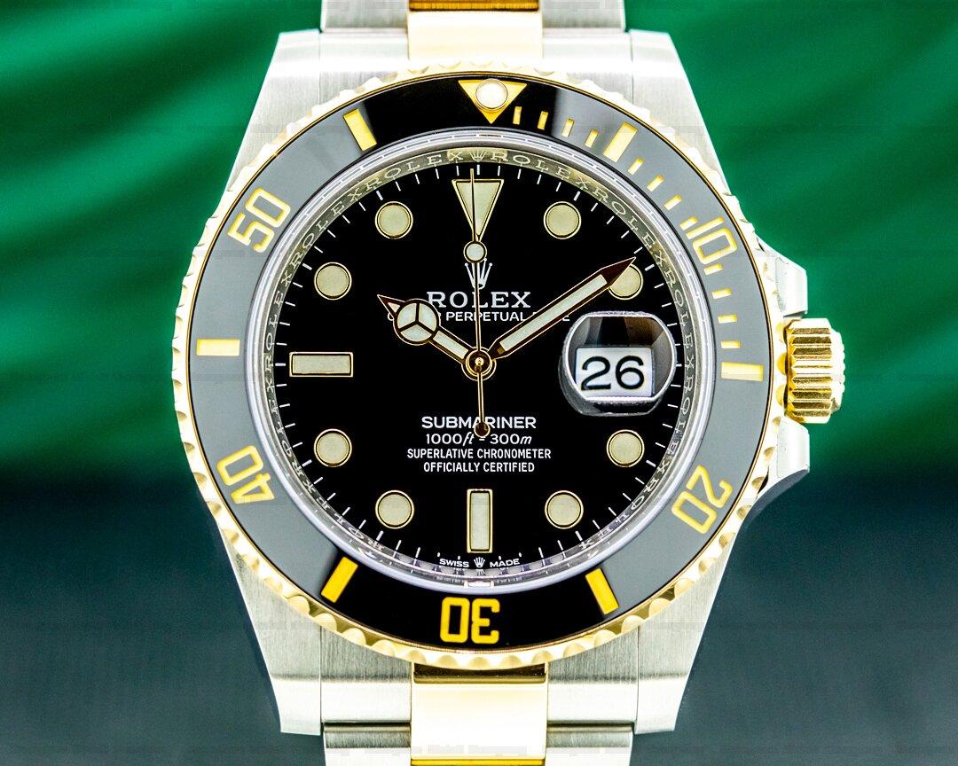Rolex Submariner 41MM 126613LN Ceramic Black Dial 18K / SS 2020 Ref. 126613LN