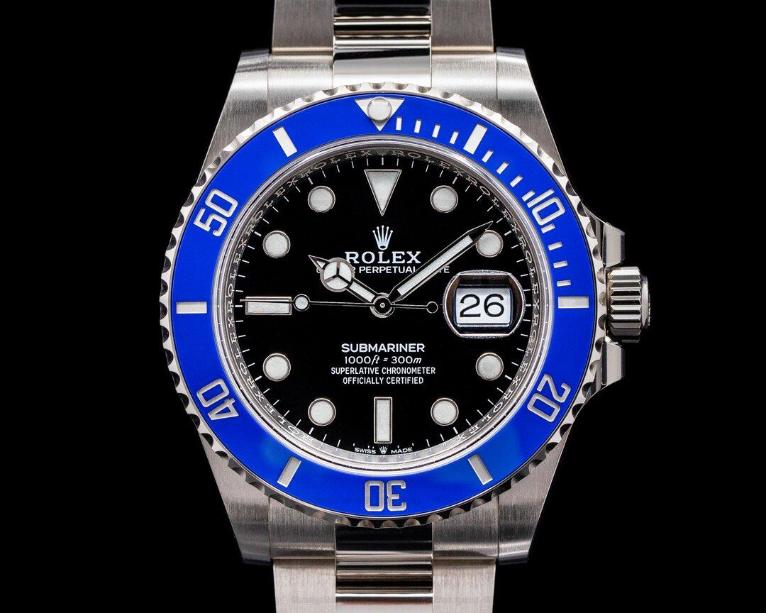 Rolex Submariner Date 126619 18K White Gold Blue Bezel NEW MODEL Ref. 126619LB