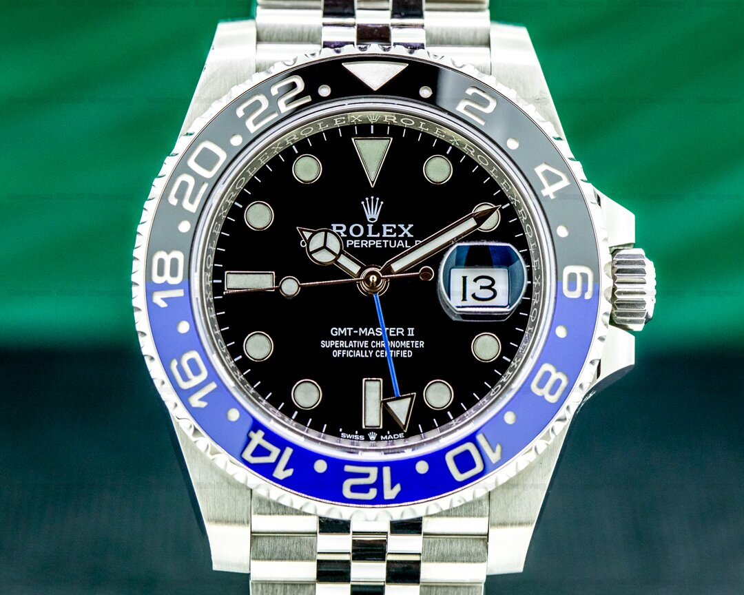 Rolex GMT Master II 126710 Ceramic Batman SS Ref. 126710BLNR