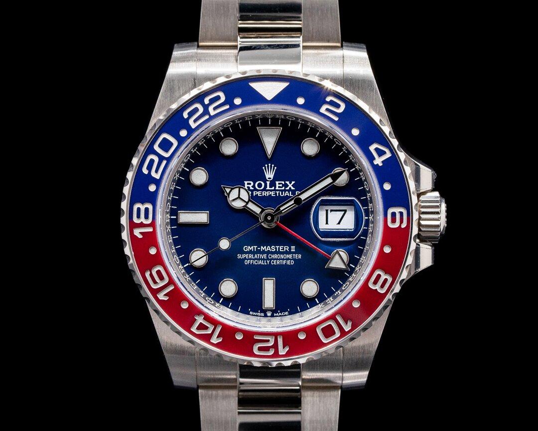 Rolex GMT Master II 126719 Ceramic Pepsi 18k Blue Dial 2020 Ref. 126719BLRO