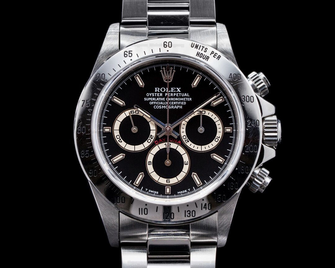 Rolex Daytona 16520 T Series Black Dial Zenith NICE FULL SET Ref. 16520