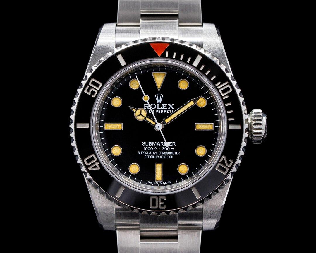 Rolex Project X Designs HS01 Submariner No Date Ceramic Bezel LIMITED NICE Ref. HS01