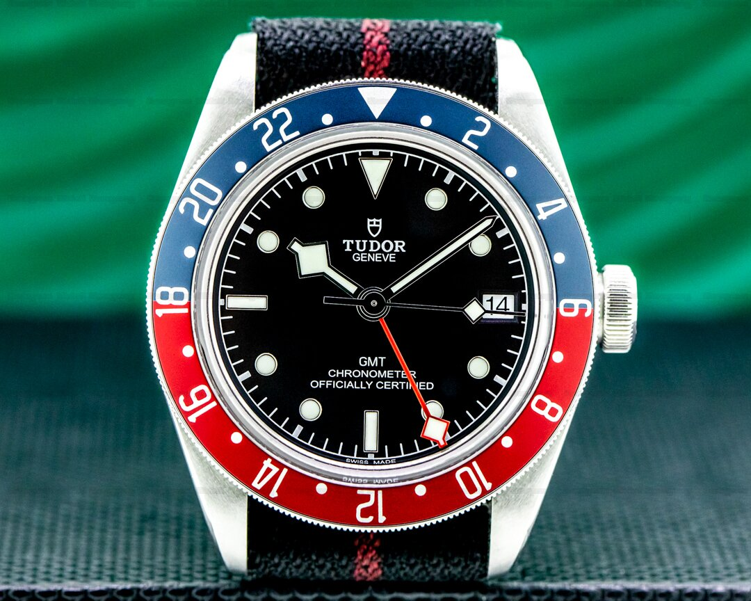 Tudor Tudor 79830 Heritage Black Bay GMT Ref. 79830RB