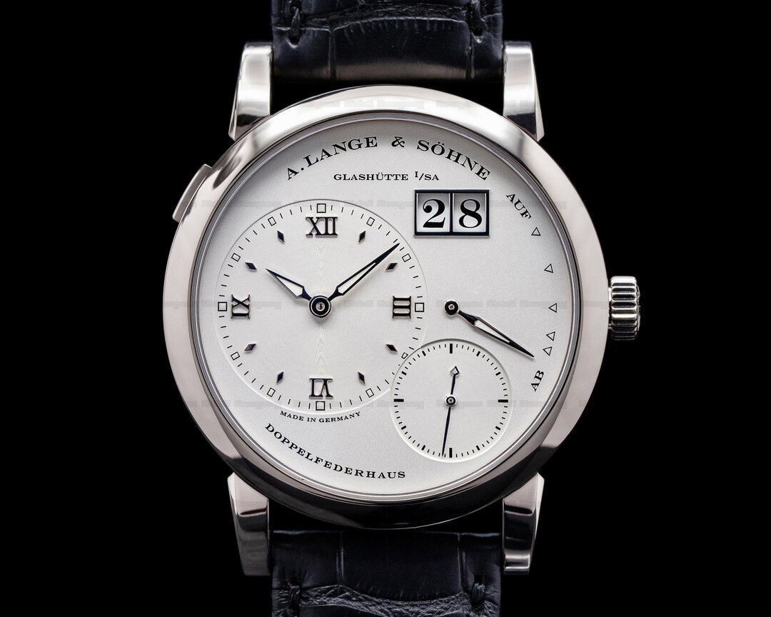 A. Lange and Sohne Lange 1 101.039 18K White Gold Silver Dial Ref. 101.039