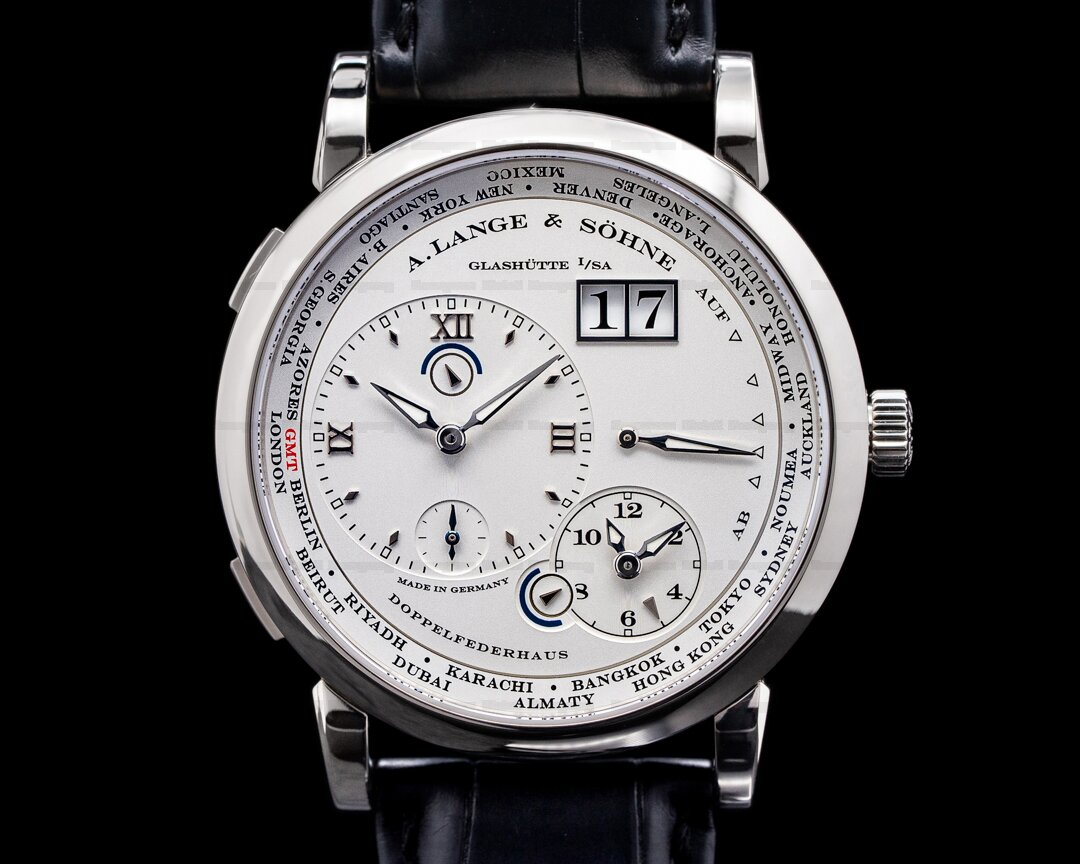 A. Lange and Sohne Lange 1 Time Zone 116.039 18K White Gold Ref. 116.039