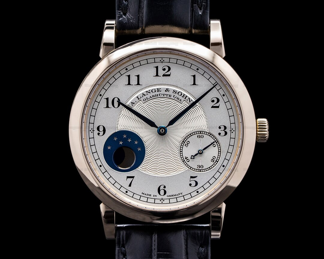 A. Lange and Sohne 1815 212.050 Moonphase Honey Gold Hommage to FA Lange LIMITED Ref. 212.050