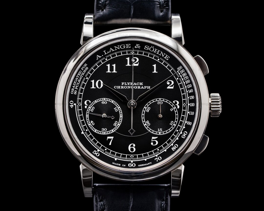 A. Lange and Sohne 1815 414.028 Chronograph 18K White Gold 2018 Ref. 414.028