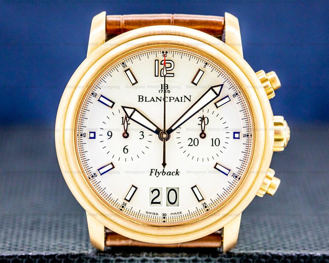 Blancpain Flyback Big Date Brushed Rose Gold 40MM Ref. 2885F-36B42-53B