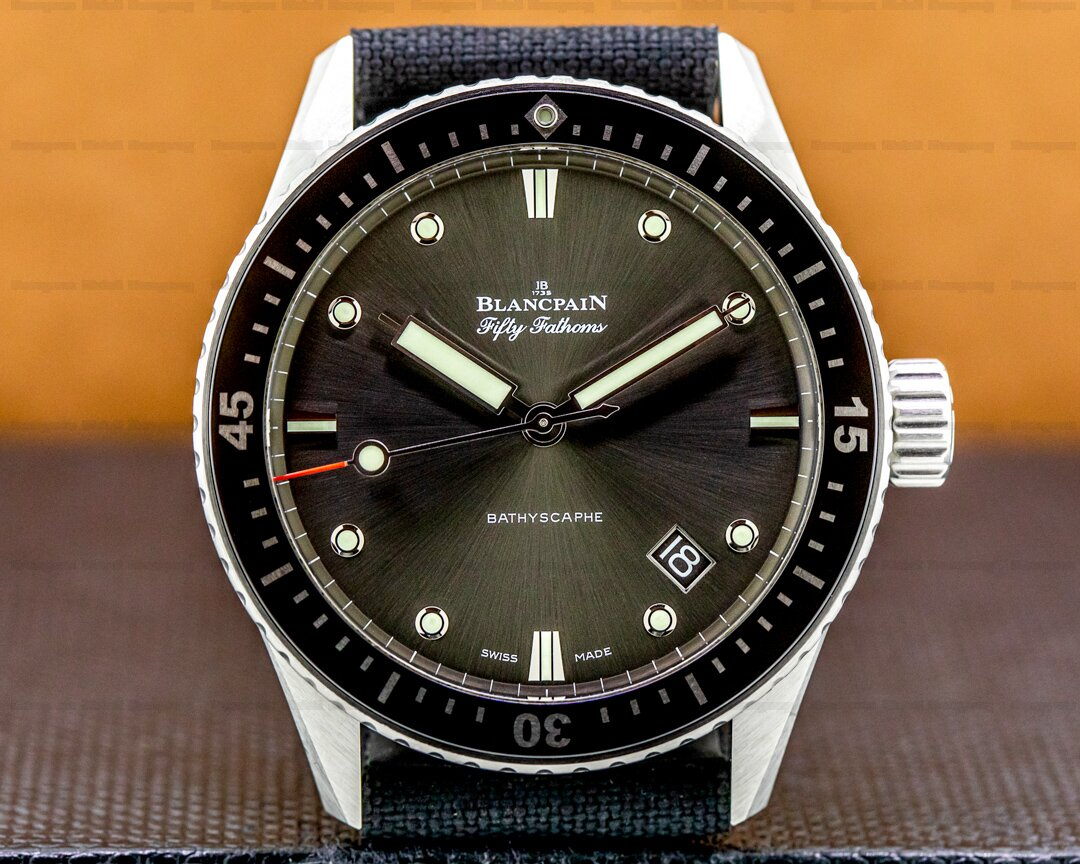 Blancpain Fifty Fathoms Bathyscaphe Stainless Steel 43mm Ref. 5000-1110-NABA
