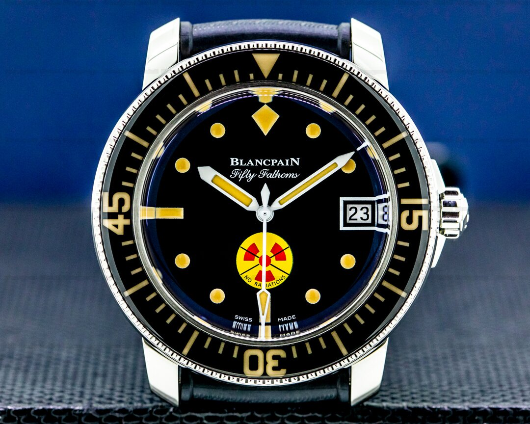 Blancpain Tribute To Fifty Fathoms No Radiations SS Limited 2021 UNWORN Ref. 5008D-1130-B64A