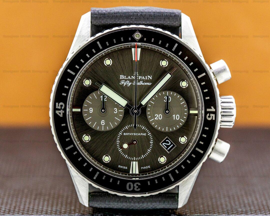 Blancpain Fifty Fathoms Bathyscaphe Flyback Chronograph SS Ref. 5200-1110-B52A