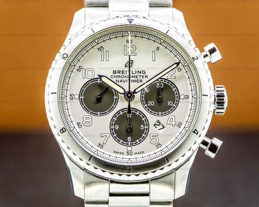 Breitling Navitimer Aviator 8 B01 Chronograph 43 Panda Dial Ref. AB01171A1G1P1
