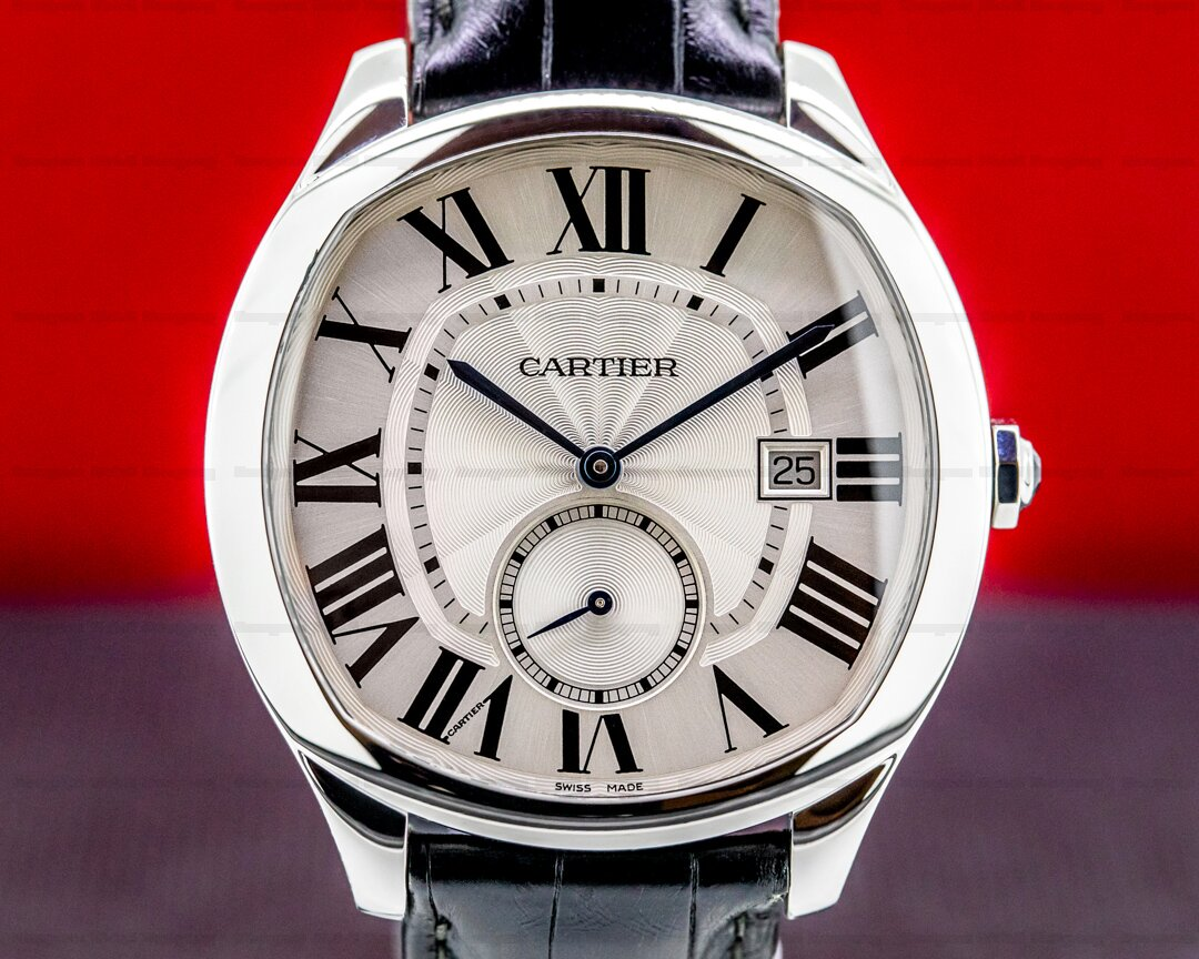 Cartier Drive de Cartier SS/ Deployant Ref. WSNM0004