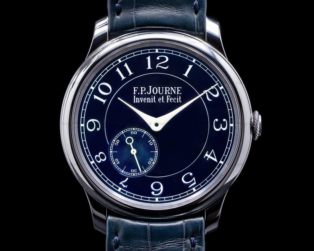 F. P. Journe Chronometre Bleu Tantalum Blue Dial 2019 Ref. CB