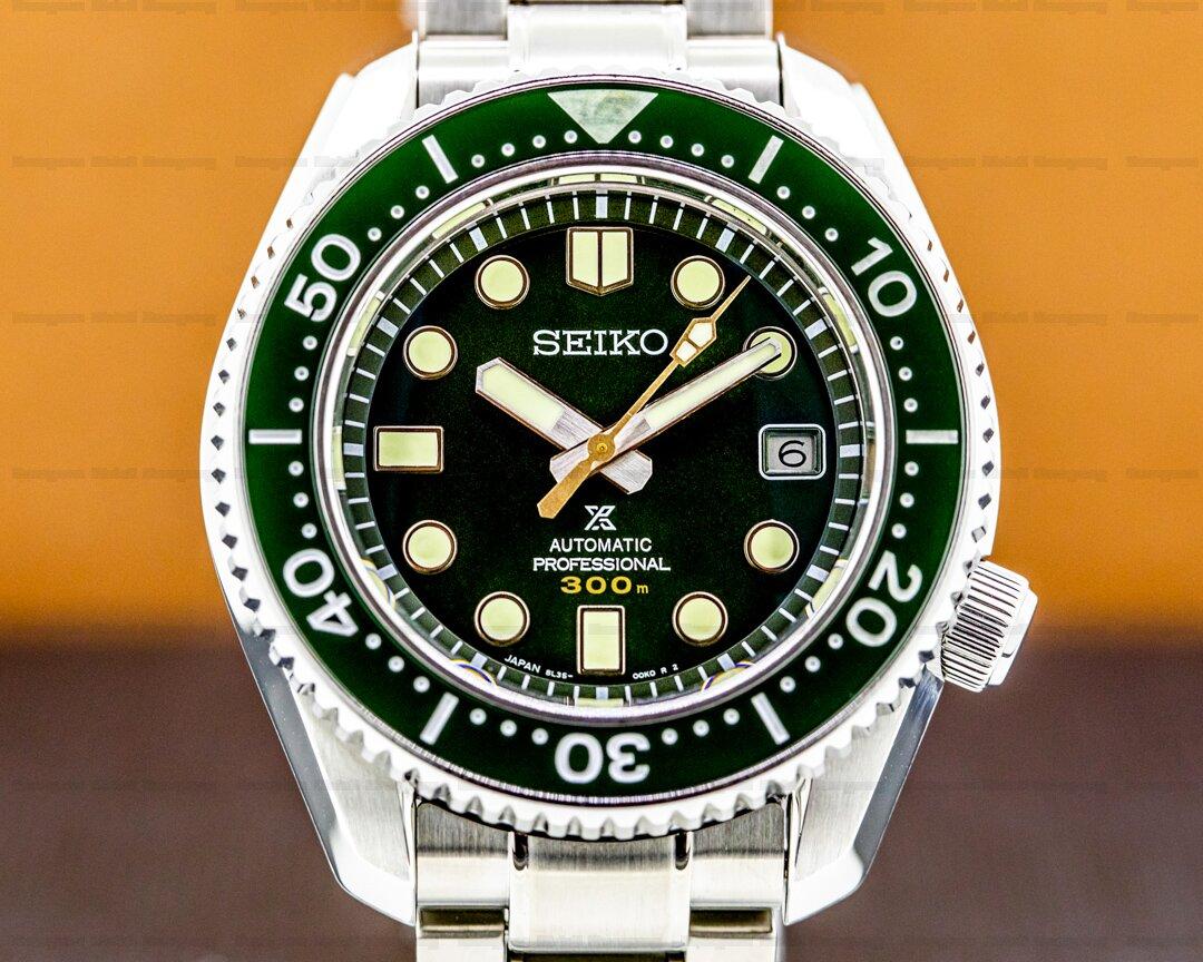Grand Seiko Prospex Diver 300M Deep Forrest Ceramic Limited Edition Ref. SLA019J1
